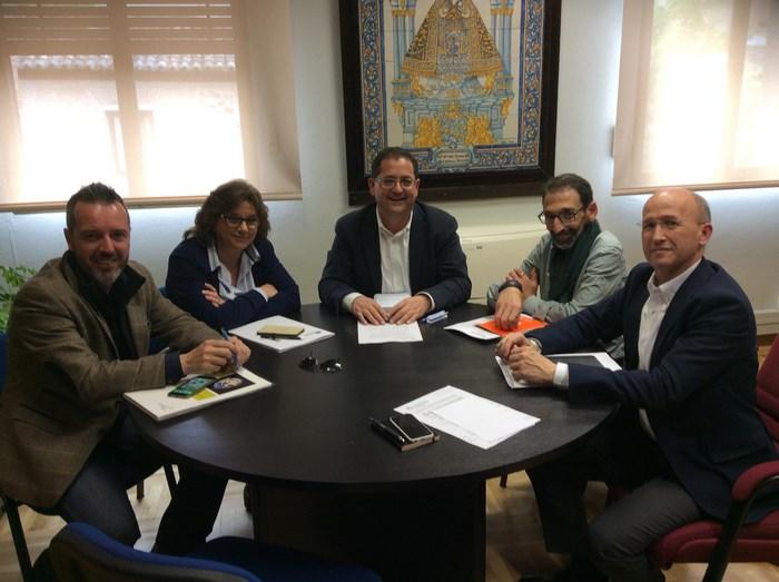 Tomás Villarrubia se reúne con Mancomunidades