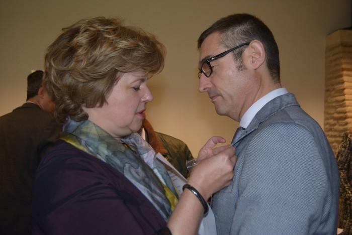 Fernando Muñoz y Argita Daudze