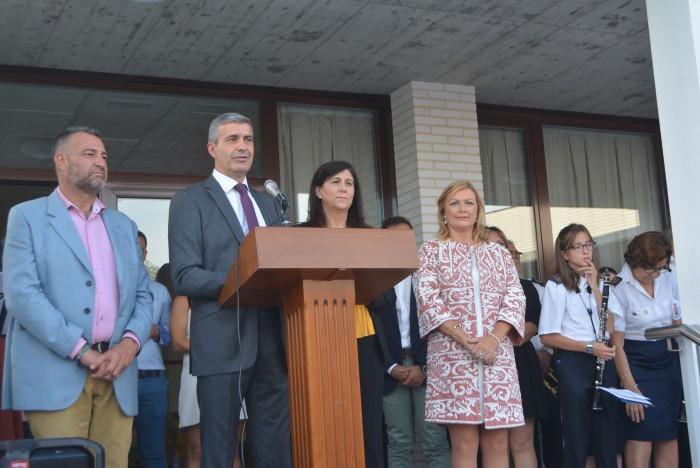 Álvaro Gutiérrez interviene en la inauguración