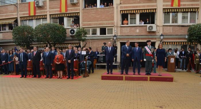 Álvaro Gutiérrez en los actos dela Patrona de la Guardia Civil