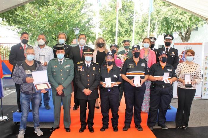 Premiados en el Día de Protección Civil de Seseña
