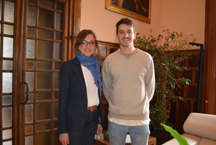 Ana Gómez y Pablo de la Villa