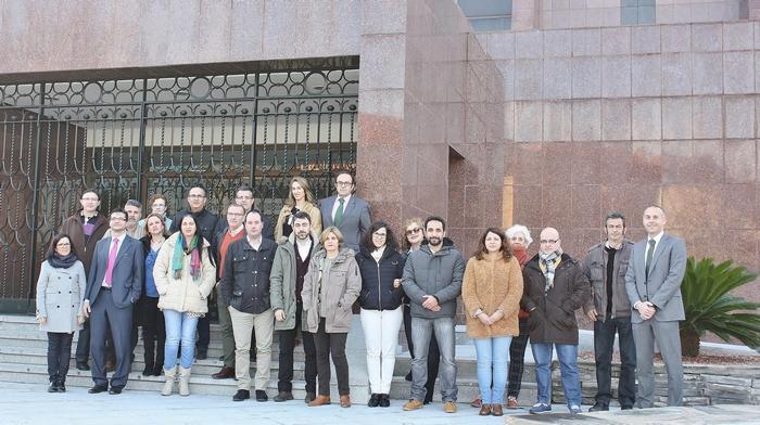 Formación gracias a la colaboración Diputación-Caja Rural CLM
