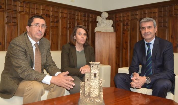 Foto de archivo: reunión Álvaro Gutiérrez y Jesús F. Santos