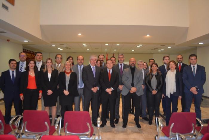 El presidente de la Diputación en el Consejo de Gobierno de Illescas