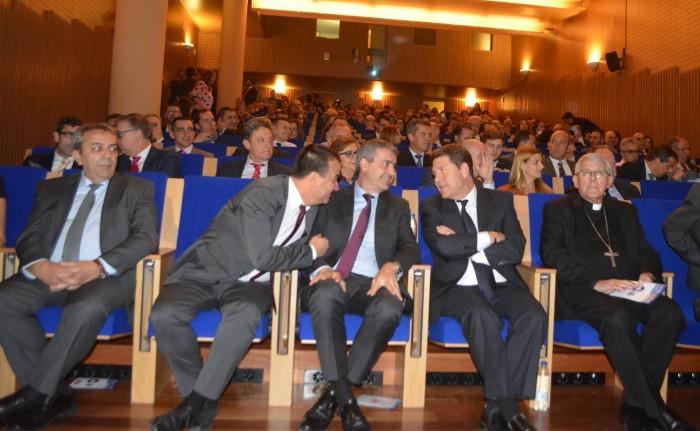 Álvaro Gutiérrez minutos antes de comenzar el acto de entrega de premios