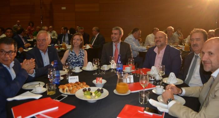 Álvaro Gutiérrez en el desayuno sobre la PAC
