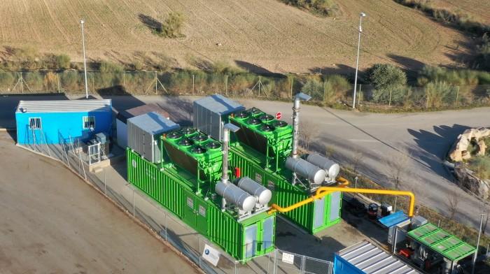 Visión aérea planta biogás