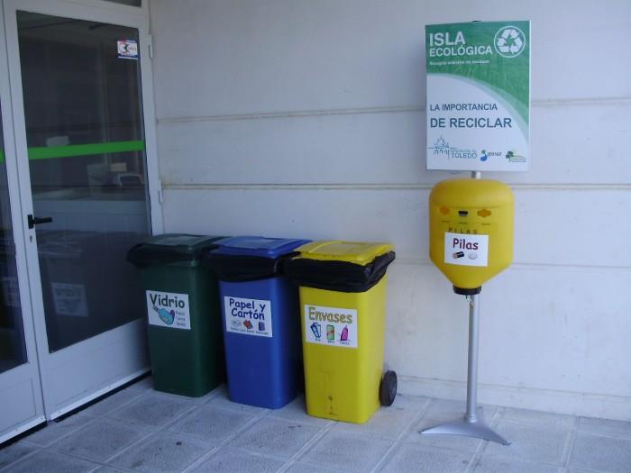 Una isla ecológica en un centro educativo de la provincia de Toledo