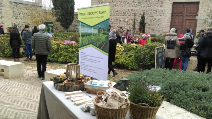 El jardín de San Lucas acoge esta muestra de flores y plantas
