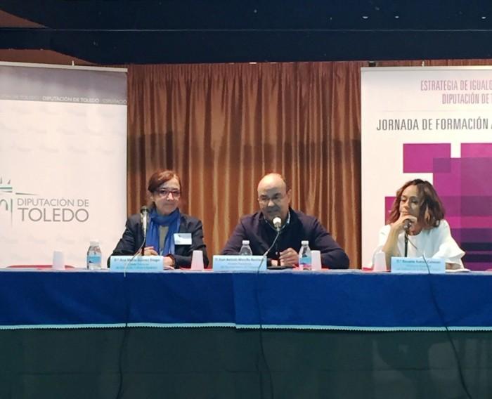 Ana Gómez, Charo Navas y Juan Carlos Morcillo