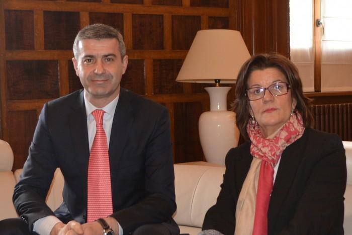Álvaro Gutiérrez y María Ángeles Martínez