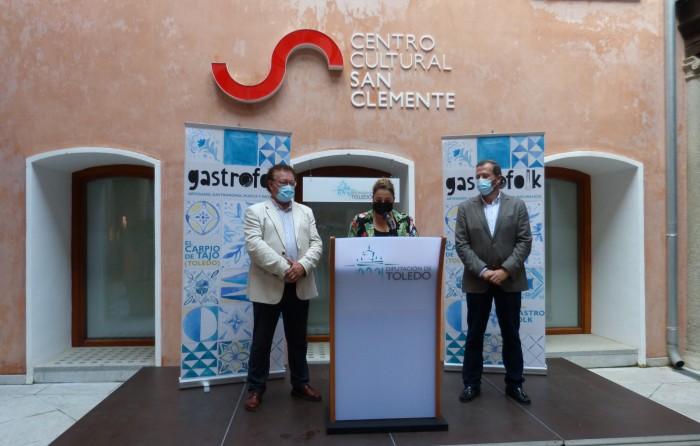 Cristina Cebas interviene en la presentación de Gsstrofolk