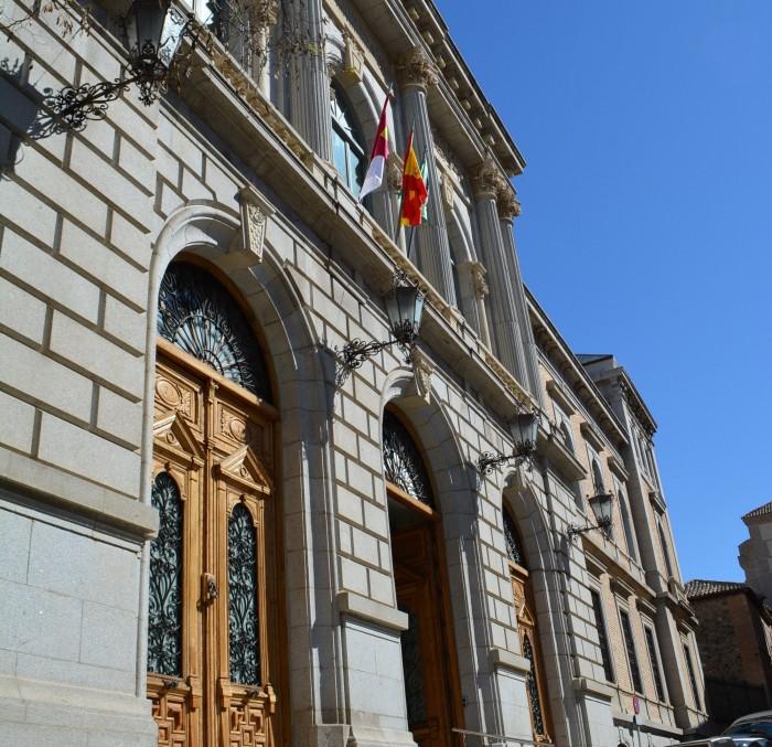 Perspectiva fachada Diputación