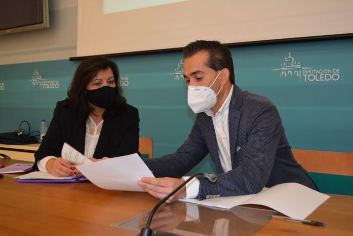 Jaime Corregidor y Elisa Fernández