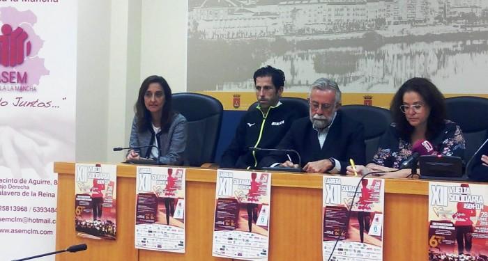 Presentación XII carrera solidaria ASEM-CLM