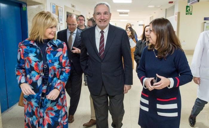 María José con Vicenc Martínez y Regina Leal