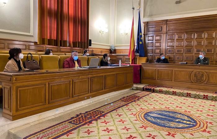 Reunión del Gobierno provincial el pasado viernes