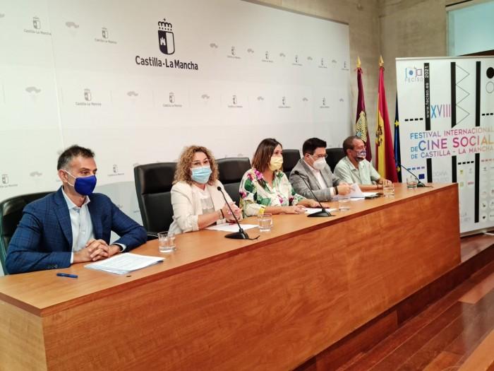 Cristina Cebas en la presentación de FECISO 2021