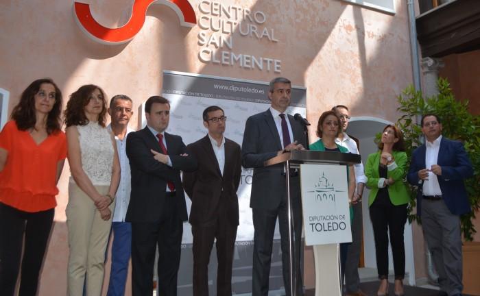 Álvaro Gutiérrez y el Gobierno de la Diputación de Toledo