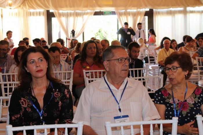 Elvira Manzaneque asiste al encuentro del 25 aniversario de Marsodeto