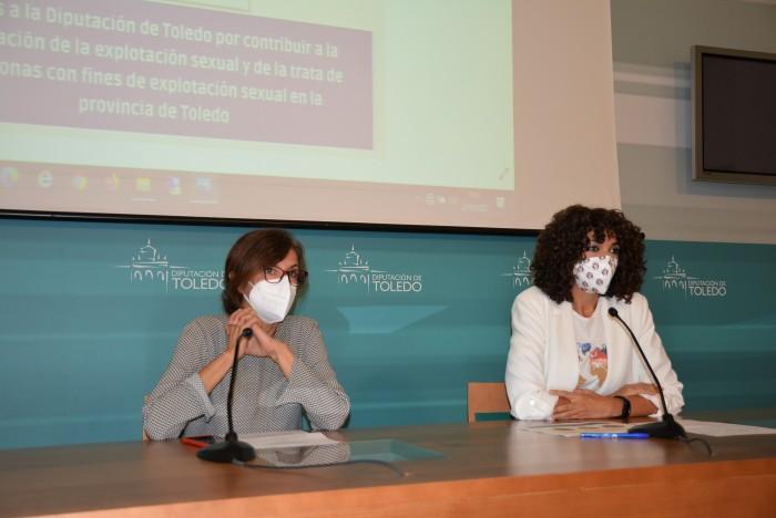 Un momento de la rueda de prensa para informar de la colaboración de Diputación y Médicos del Mundo