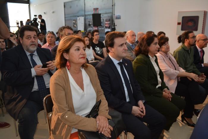 Ángel Antonio Luengo en el acto del Día de Europa