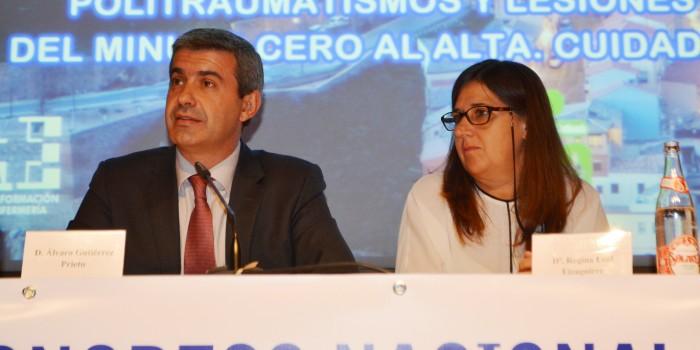 Álvaro Gutiérrez y Regina Leal