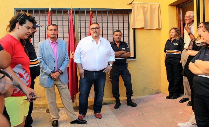Sede protección civil Villafranca Caballeros (archivo)