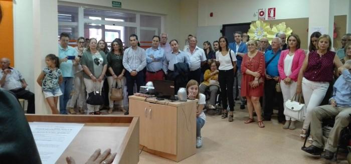 Diputados provinciales y asistentes en la presentación