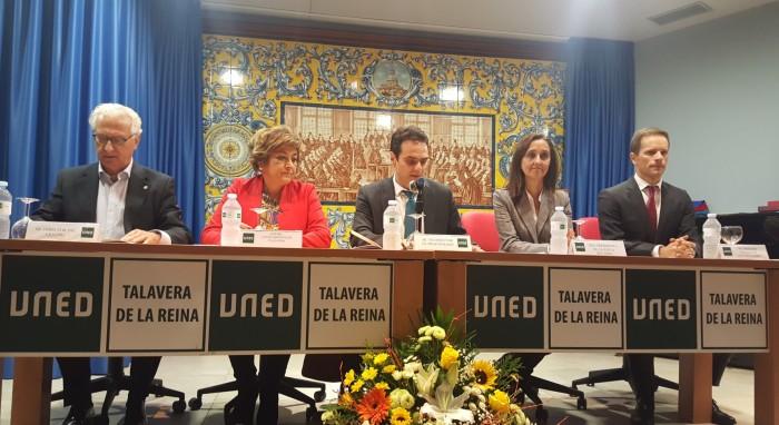 Flora Bellón en la inauguración del curso UNED 2018-2019