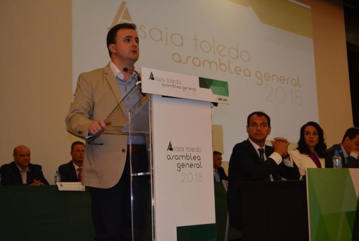 El vicepresidente interviene en la Asamblea de ASAJA