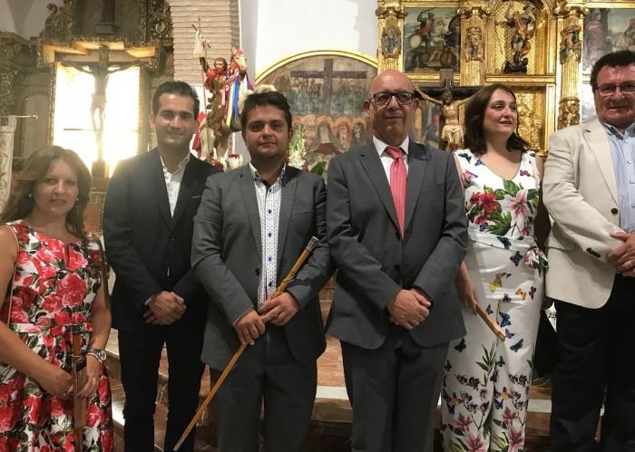 Jaime David Corregidor en las fiestas de El Carpio de Tajo