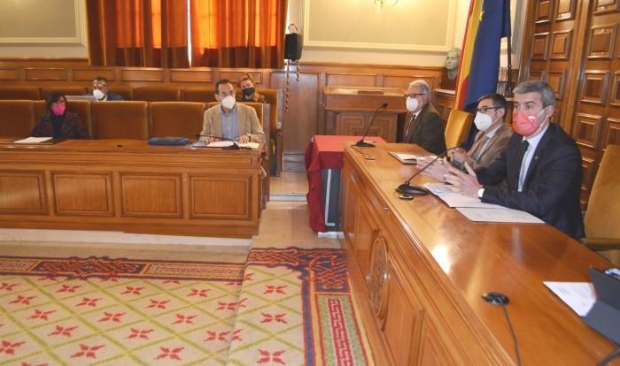 Álvaro Gutiérrez interviene en el pleno