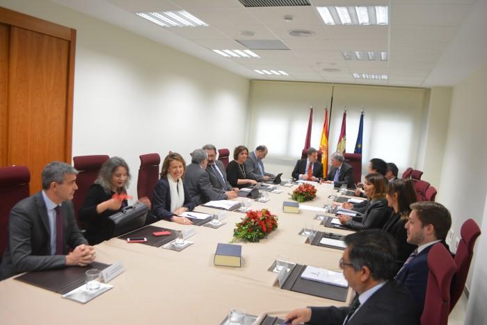 Álvaro Gutiérrez en el Consejo de Gobierno en Illescas