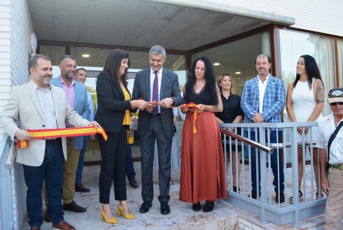Álvaro Gutiérrez foto centro día Yeles inauguración