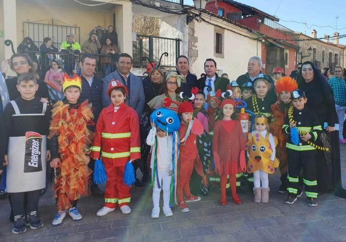 José Carlos Sánchez en el carnaval de CRA en Pepino