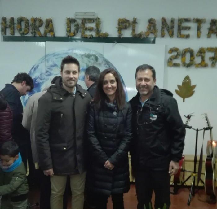 Foto de archivo. Flora Bellón en la jornada El Día del Planeta celebrada en 2017