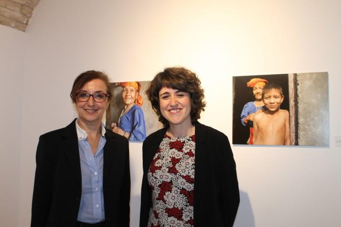 Ana Gómez e Irina Moreno
