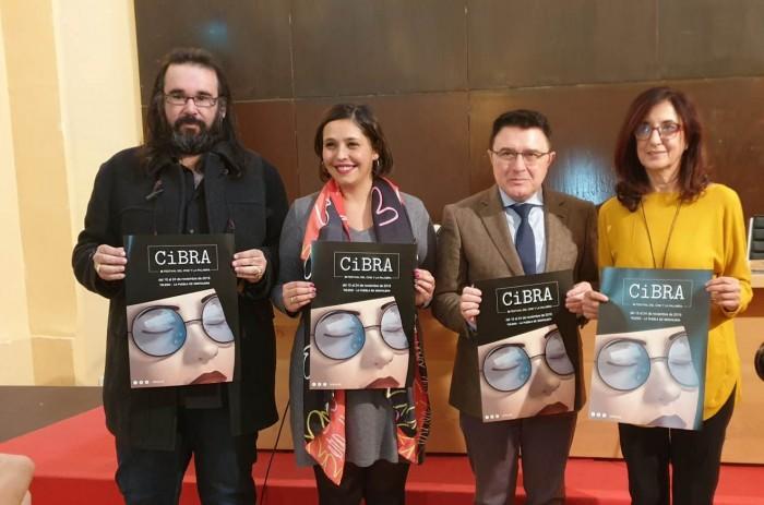 Ana Gómez en la presentación del Cibra