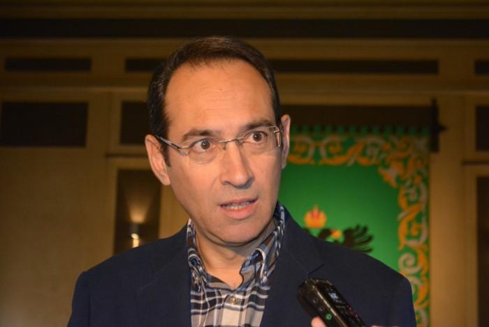 Santiago García Aranda hace declaraciones sobre el pleno