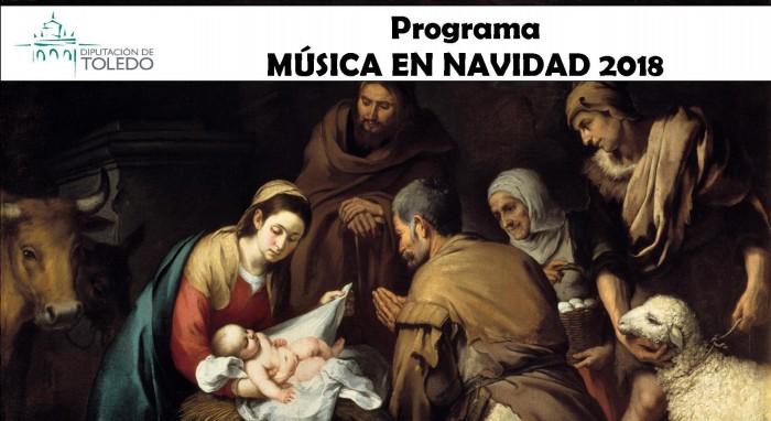 Cartel programa Música en Navidad