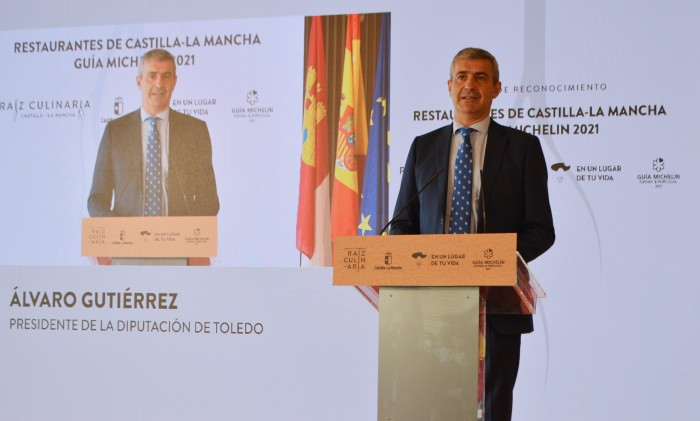 Álvaro Gutiérrez interviene en el acto
