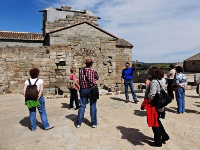 Visitas en Santa María de Melque