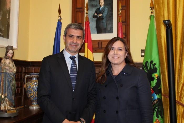Álvaro Gutiérrez y Silvia Díaz del Fresno