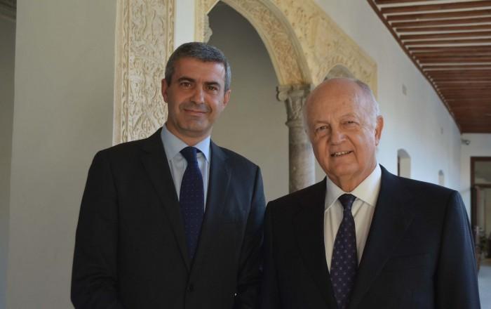 Álvaro Gutiérrez y Juan Ignacio de Mesa,presidentes de Diputación de Toledo y Real Fundación