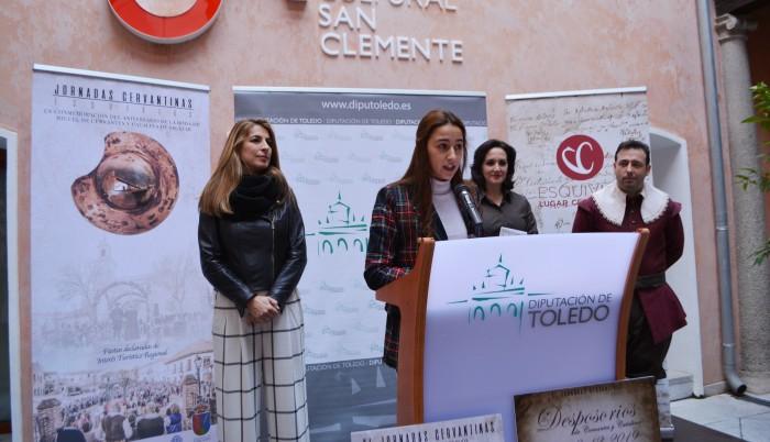 Alicia Martín durante la presentación