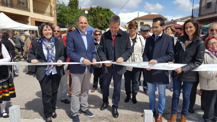 Inauguración del encuentro comarcal de la Sierra de San Vicente