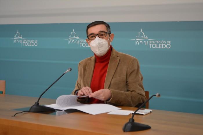 Fernando Muñoz en la rueda de prensa