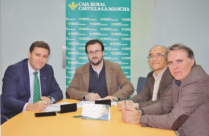 Ángel Luengo firma con caja Rural Castilla-La Mancha